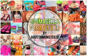 115 imagenes para editar by AgustinMonster28