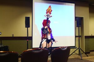 ColossalCon 2014 - Erza Scarlet by VideoGameStupid