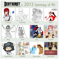 2013SummaryofArt by Deathirst
