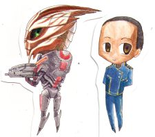 :Mass Effect: The First People You Meet by Anjian