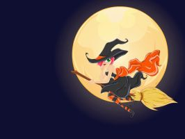 The Witching Hour - Wallpaper by snerk