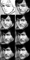Bruce Lee Making-of by Matou31