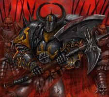Chaos warrior by ryan1456