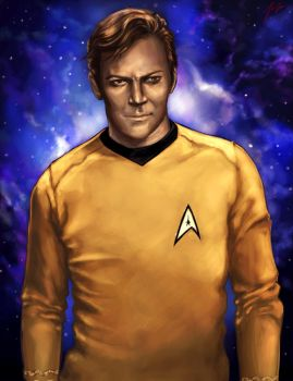 James T. Kirk by MomentsOfBloom