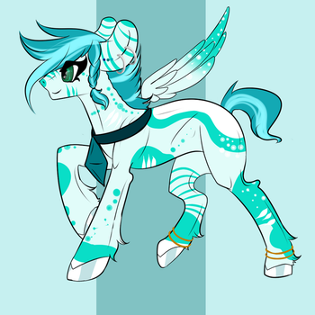 Pony Adopt {CLOSED} Wild Blue by BetterthanaBase