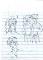 PJO sketchies by art-tiger