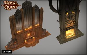 Low poly models for the Mansion by mmx-v