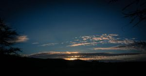 Sunrise from Diamond Head National Park by Natures-Studio