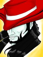 Twisted Fate - LoL - Colored by RoulettesPlay