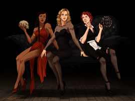 My Favorite Dames from American Horror Story by DJCoulz