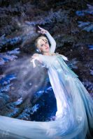 Elsa from Frozen by soliciana