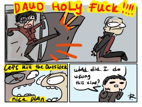 dishonored, doodles 32 by Ayej