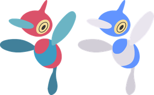 Vector - Porygon-Z by TaerkEX