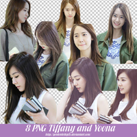 8 PNG Tiffany and Yoona By Les by yenlonloilop7c
