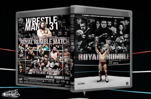 WWE Royal Rumble 2015 Blu-Ray Cover by JoKeRWord