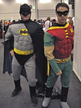 Batman and Robin by ZeroKing2015