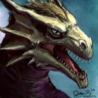 Dragon Icon. by maugryph