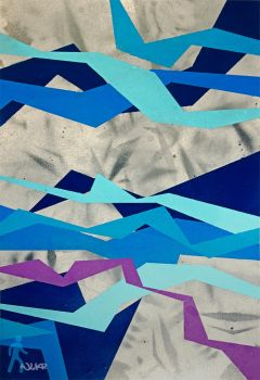 Untitled (blue) by wlkr