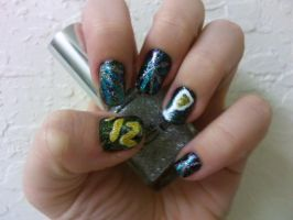 New Years Nails 1 by MissDaniLips