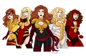 Phoenix Five by msciuto