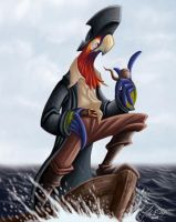 Guacamayo Pirate by Kaek