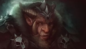 Orc King by polydrawer