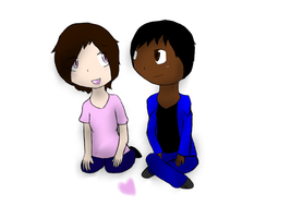 Nic and Tamika by SparkyChan23