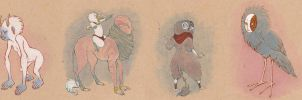 crit creatures by luve