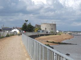 The Path to The Martello Tower by Anita-Sanderson