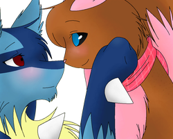 Ty and Danni by X3kittymuffinX3