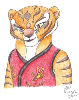 Tigress by That-Red-Panda