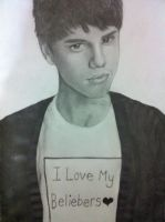 Justin Bieber by siinned101