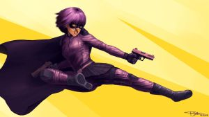 Hit Girl by GloriousRyan