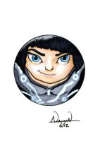 CircleToon: Quorra by Fellhauer