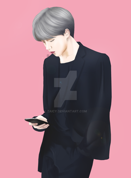BTS Jimin Fan Art by Zaicy