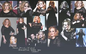 ADELE Wallpaper by MorePoison
