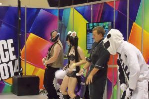 Just Dance Bane and group by Dinalfos5