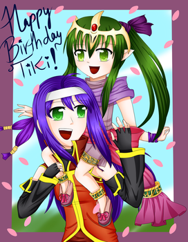 Happy late birthday Tiki~! by Ask--Mia