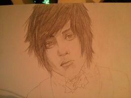 Oliver Sykes WIP by Nakuichia
