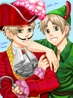 Arthur in Neverland by Nana-Boshi