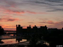 Castle Sunset by penfold5
