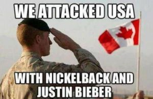 we attacked USA with Nickelback and Justin Bieber by JettwinsFan