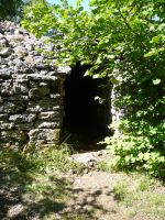 Stone house 15 -stone shed by Cat-in-the-Stock
