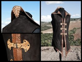 Leather tunic by Adhras