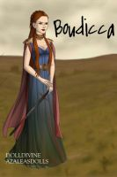 Boudicca, Queen of the Iceni by daretoswim7709