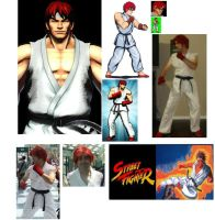 Ryu STREET FIGHTER 1 by IronCobraAM