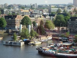 city of amsterdam by marob0501