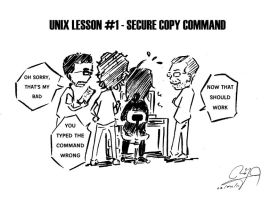 'The 233'-Unix Command Lesson1 by NK-C