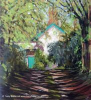 Old Farmhouse by tracybutlerart