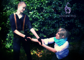 Sherry and Jake - Cosplay 2 by ladykobra